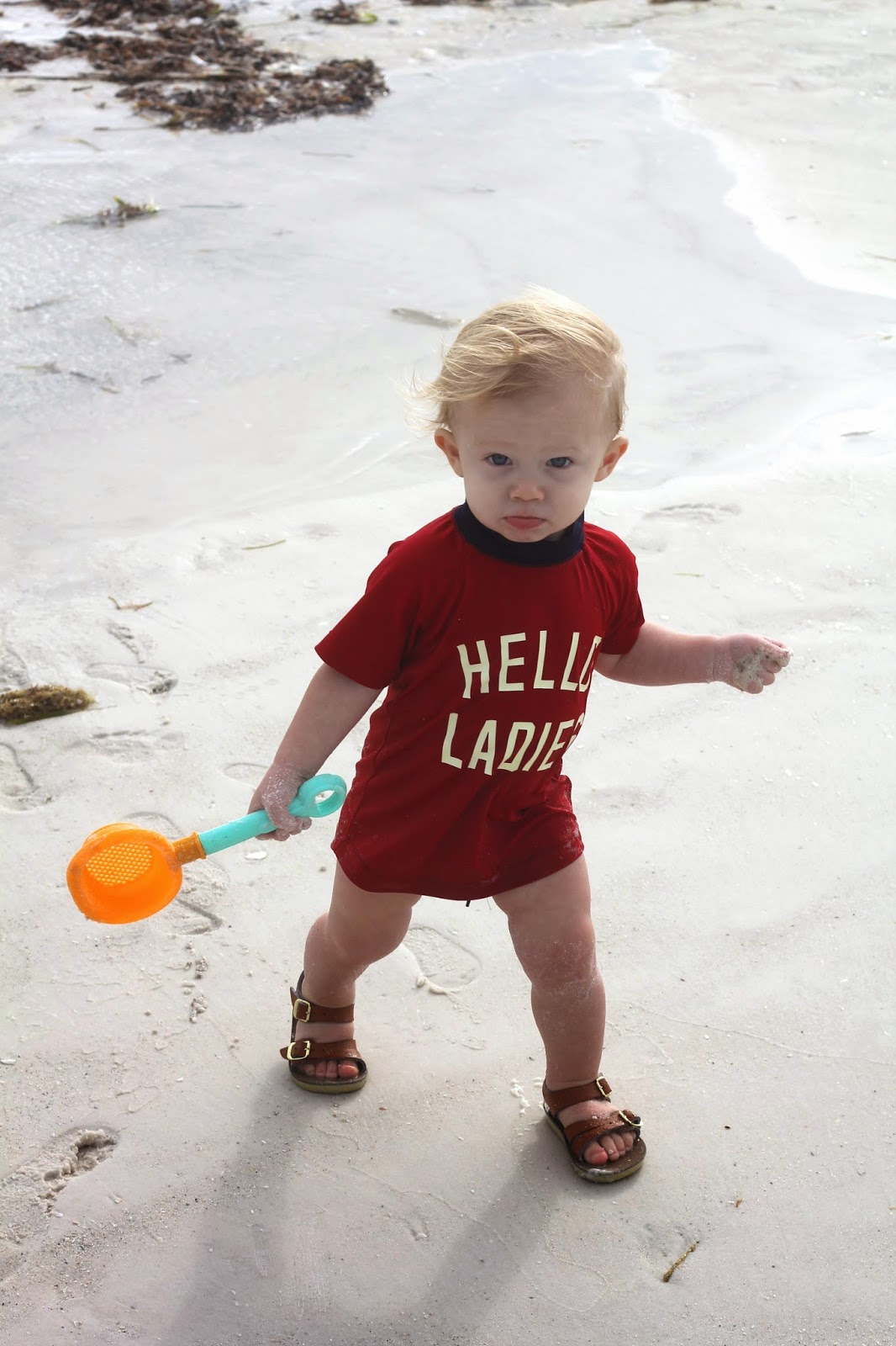 b37c646afa5d0a Beach Baby    Tuck at 15 months - Sarah Tucker