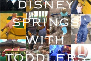 disney springs with toddlers