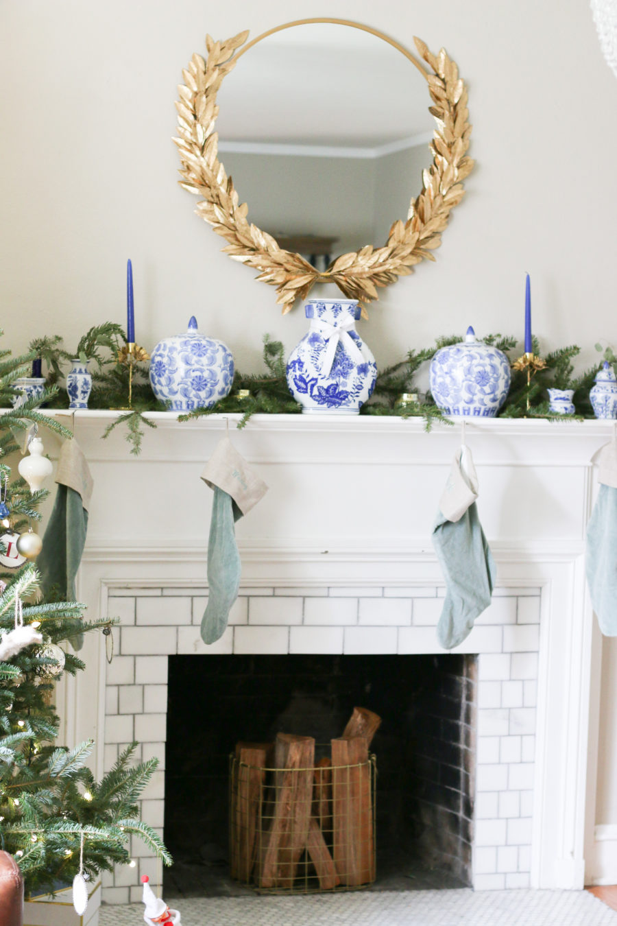 mantel for christmas