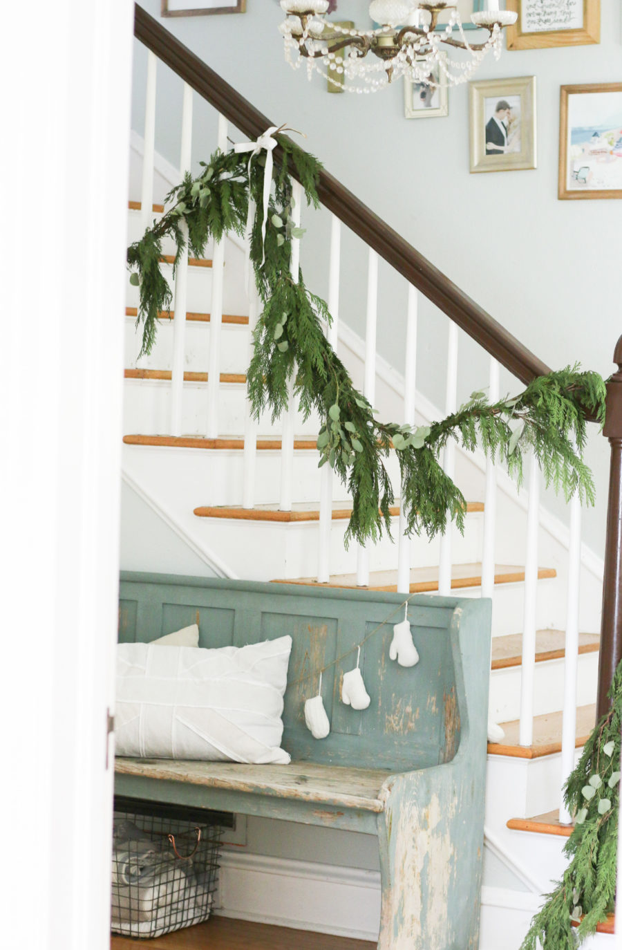 stairs for Christmas