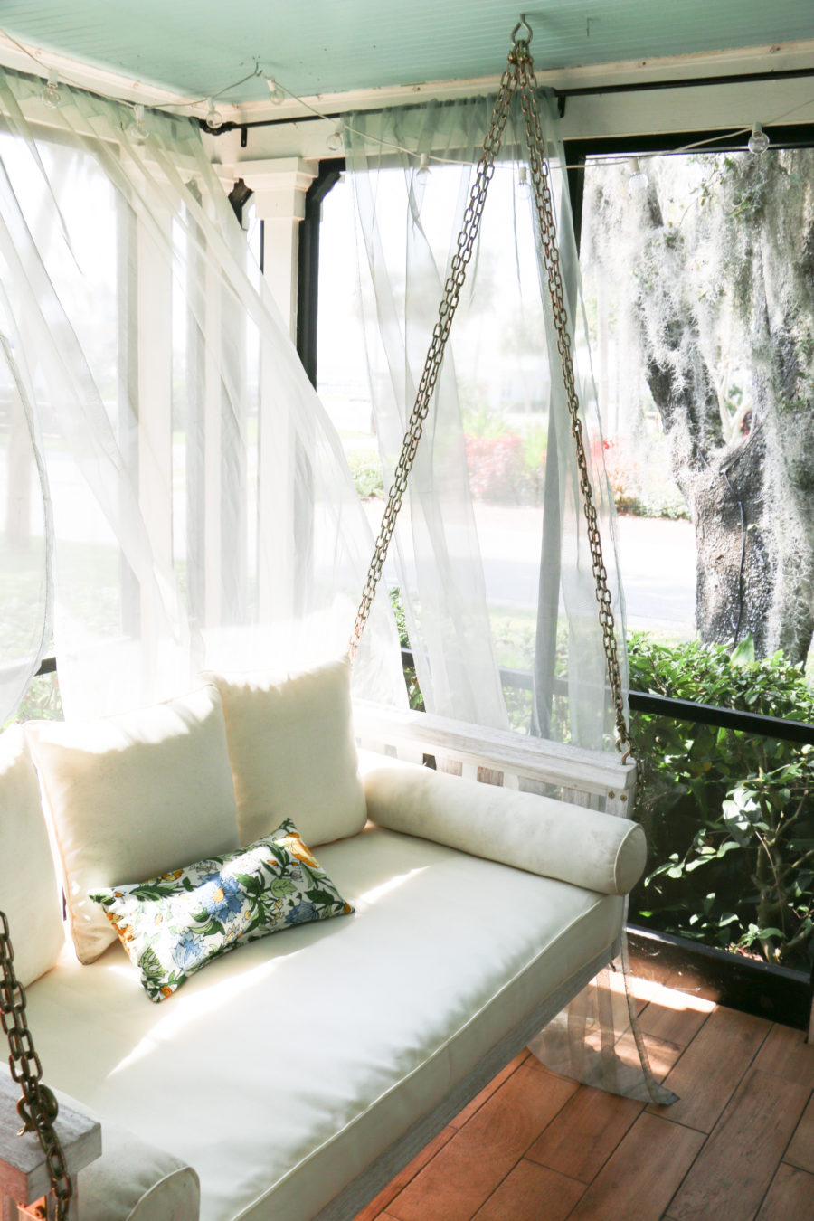 sarah tucker loving lately sarah tucker ballard design porch swing bed