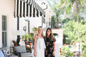 monograms and mimosa bridal shower