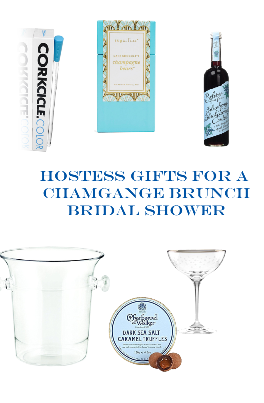 champagne brunch hostess gifts
