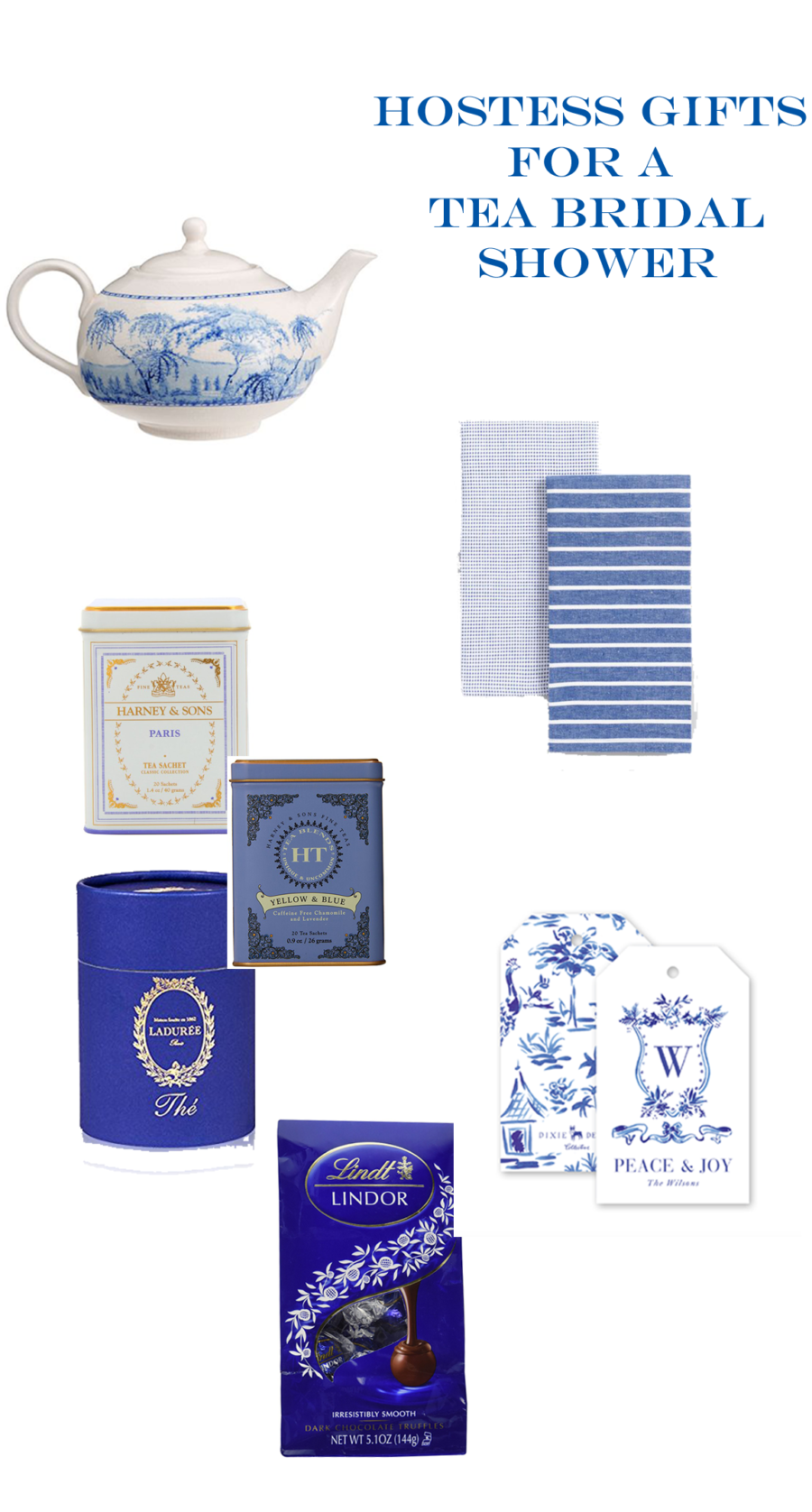 hostess gifts for a bridal tea