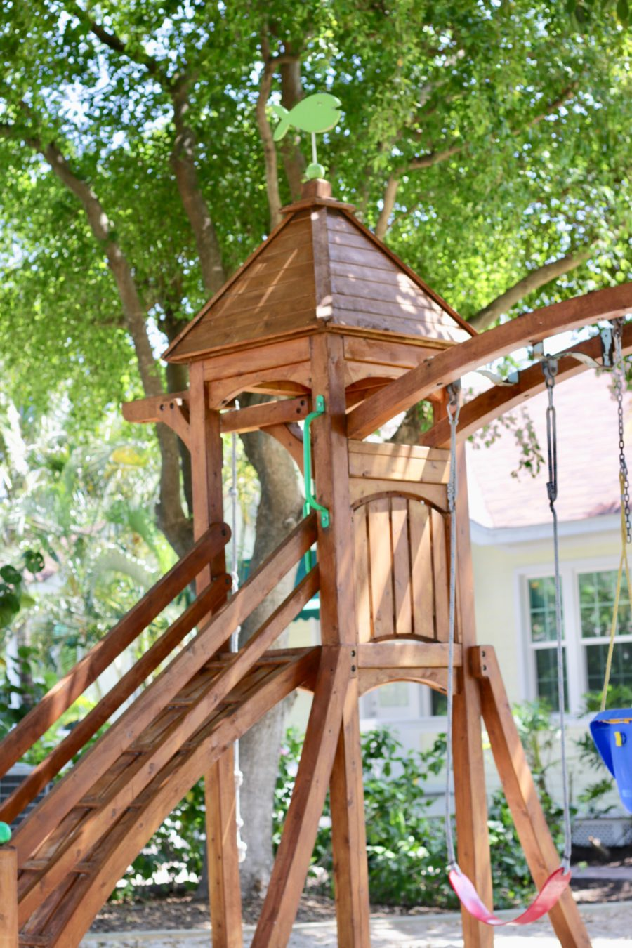 100 backyard play structure free images grass sand lawn