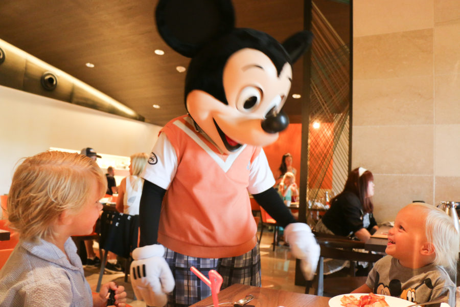 Ravello Breakfast with Goofy