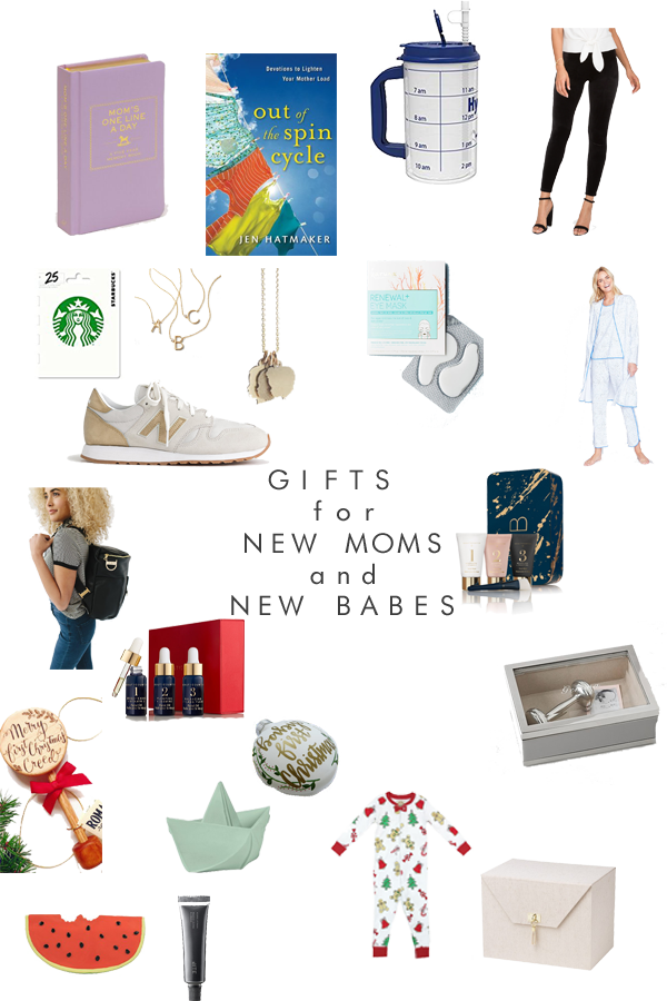 gifts for new moms and their new babies