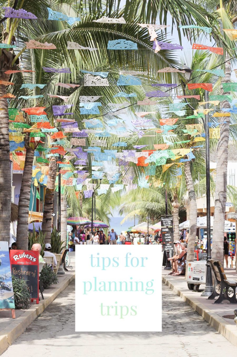 tips for planning trips