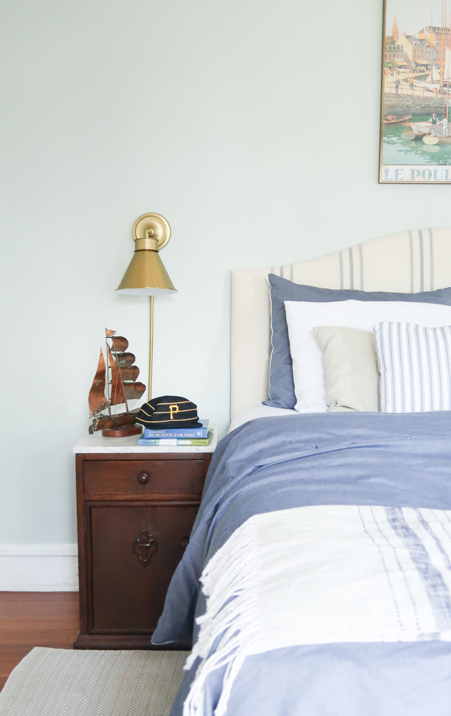 nautical inspired big boy room