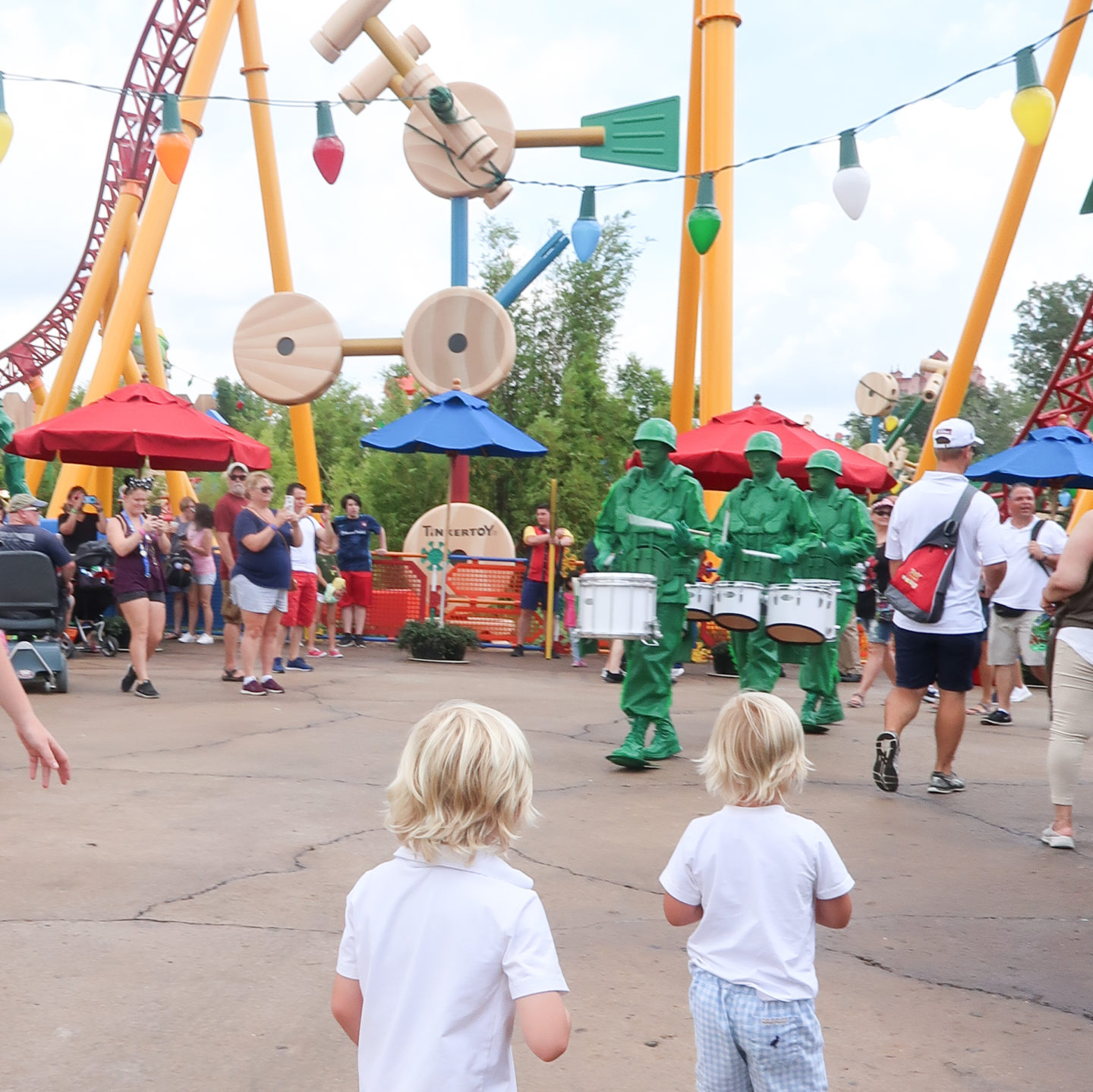 Toy Story Land with Preschoolers